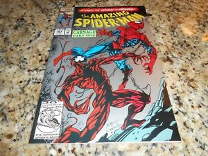 AMAZING SPIDERMAN #361 VF+!  2nd PRINTING  1ST APP CARNAGE! 1992