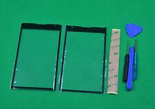 Black Outer Front Screen Glass For BlackBerry Priv STV100-1 STV100-3 STV100-4