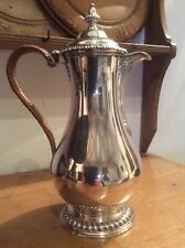 Antique Sterling Silver Hot-Water Jug George III, Charles Wright, London, 1768,