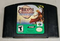 Aidyn Chronicles: The First Mage (Nintendo 64, 2001) N64 - Tested - Cart Only