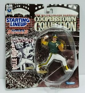 ROLLIE FINGERS Starting Lineup 1997 MLB Cooperstown Collection SLU Figure & Card