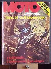 ▬► Moto Journal 95 (1972) Essai Husqvarna 125 Cross_Trial Chateau du Loir