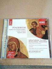 CD (2x) Krzysztof Penderecki Symphony No. 2 Te Deum usw. EMI