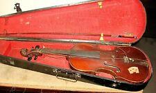 Joseph Guarnerius fecit Cremonae anno 1720  IHS Violin  W/  GSB Coffin Case