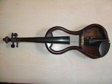 alte 4/4 stumme Geige Violine um 1900 Böhmen Österreich mute violin