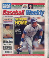 Roberto Alomar Toronto Blue Jays USA Today Baseball Weekly July 1-7 1992