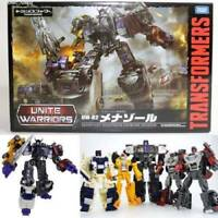 Transformers Unite Warriors UW02 Menasor Menazoru Takara Tomy Figure Japan Used