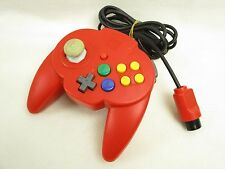 Nintendo 64 Controller HORI PAD MINI 64 Red Item Ref/2703 Working Tested Game JP
