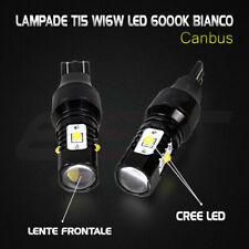 2x T15 W16W Lampade Retromarcia Led 6000K Mercedes W212 W166 W221 W176 W205 X166