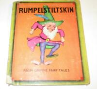 RUMPELSTILTSKIN also THE STORY OF RAPUNZEL from GRIMMS' FAIRY TALES - 1938 Rumpe