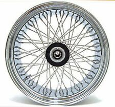 "60 SPOKE 18"" BILLET HUB FRONT WHEEL 18 X 3.5 HARLEY SOFTAIL FLST HERITAGE FLSTC"