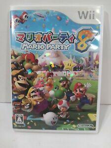 Mario Party 8 (Nintendo Wii, 2007) - Japanese Version...