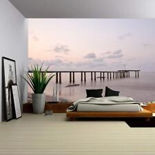 Wall26 - Old Sea Pier - Wall Mural Home Decor - 66x96 inches