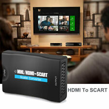 USB HDMI to SCART Adapter HD 1080P Video Audio Converter Cable TV SkyBox PS2