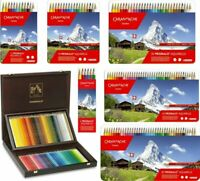 Caran d'Ache Prismalo Artist Quality Colour Pencil Soft Water Soluble Tin Set