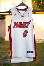 LeBron James Adidas Swingman Miama Heat 2010 Season NBA Jersey