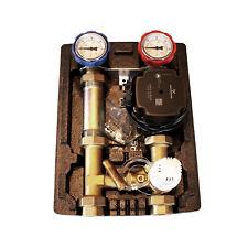 Pumpengruppe Heizkreis 3 Wege Mischer Fußbodenheizung mit Thermostat 20-50°C