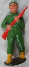 Vintage Manoil Barclay Italian Infantry Man With Rifle