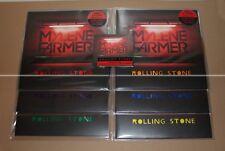 MYLENE FARMER - ROLLIND STONE - 6 VINYLS COULEUR + CD MAXI - NEUF