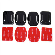 NEW Flat Mounts+Curved Mounts with adhesive pads Gopro