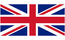 "United Kingdom Flag Vinyl Decal Sticker British Union Jack - 5"" in."