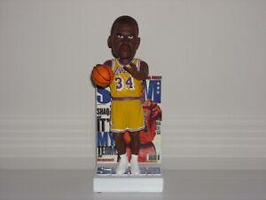 SHAQUILLE O'NEAL Lakers SHAQ Bobblehead 2020 NBA Slam Magazine Edition New*