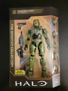 Halo The Spartan Collection Master Chief Action Figure - HLW0018 Xbox Add-on