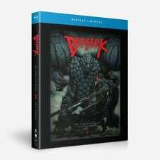 Berserk: The Complete Series (Blu-ray Disc, 2020, 4-Disc Set)