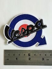 Vespa Target Arrow Patch - Embroidered - Iron or Sew On
