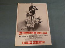 ORIGINAL MOVIE POSTER / AFFICHE - NORTH SEA HIJACK (ROGER MOORE, ANTHONY PERKINS