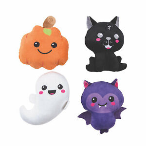 Halloween Kawaii Plush Characters, Party Favors, Stuffed Toys,12 Pieces