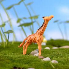Hot Sell Moss Micro Landscape Decor Giraffe Ornaments Cute Giraffe Toys
