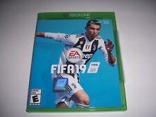 Original Box Case Replacement Microsoft Xbox One XB1 FIFA 19 2019
