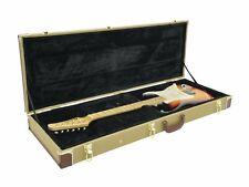 Tweed Vintage E-Gitarre Gitarrenkoffer TL / ST Form Guitarcase Koffer z.B.Fender