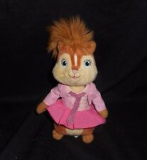 TY 2011 BRITTANY CHIPETTES PINK GIRL ALVIN & CHIPMUNKS STUFFED ANIMAL PLUSH TOY