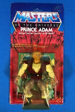 MOTU ORIGINAL HEROIC PRINCE ADAM 7353 MOC 12 BACK MASTERS OF THE UNIVERSE HE-MAN