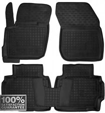 Rubber Carmats for Ford Mondeo V 2015- All Weather Floor Mats Fully Tailored