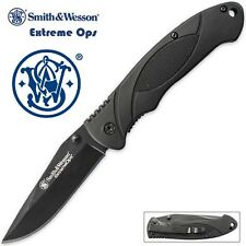 Smith & Wesson Extreme Ops Tactical Folder Knife NEW SWA25