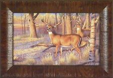 BEAN FIELD BUCK - KING OF BUCKS COLLECTION by Cynthie Fisher 11x15 FRAMED PRINT