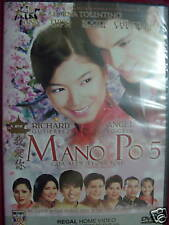 Tagalog/Filipino Movie: MANO PO 5: GUA AI DI DVD