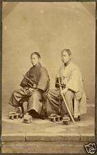 Samurai Warriors Yakunins Japan 1870, Reprint Photo 7x4 inch