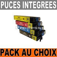 LCartouches Compatibles EPSON NON-OEM 18 XL PAQUERETTE T1811 à T1814 T1816