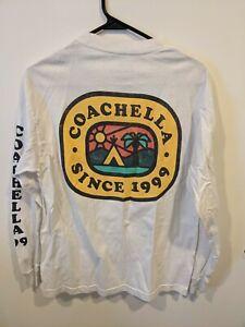 Coachella Long Sleeve T Shirt Size Medium Music And Arts Festival Empire Camp