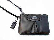 Coach Madison Patent Leather Wristlet 46621 Pewter