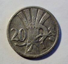 CSR - Tschechoslowakei - 20 Heller - 1921 - Umlaufmünze - ss+ / vf+