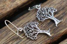 Tree Of Life Earrings, Drop Earrings, Sterling Silver Earrings, Dangle Earrings