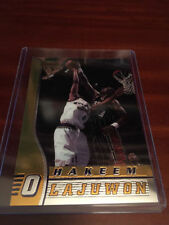 Hakeem Olajuwon Houston Rockets Basketball Trading Cards