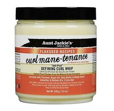 Aunt Jackies 426 G Flaxseed Mane TENANCE Defining Curl Whip