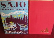 Sajo and Her Beaver People ~ Grey OWL. HbDj 19th 1961 illustrate  RARE!  in MELB