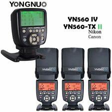 YONGNUO YN560 IV Wireless Speedlite Flash+YN560-TX II Controller For Nikon/Canon